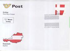 Österreich Nr. 3319 FDC Heraldik  Wien