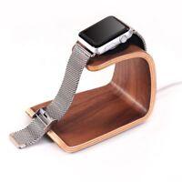 Samdi Genuine Wooden Charging Desktop Bracket Phone Stand Holder for Apple Watch
