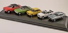 FORD 5 CAR SET - Cortina, XR3, Fiesta, Capri  1/76 scale model OXFORD DIECAST