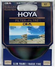 Hoya 67mm  Circular Polarizing CIR-PL CPL FILTER for Canon Sony Nikon Lenses