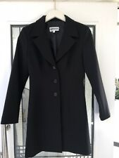 Simona Black Blazer  Size 8 As NEW ! Work Office Professional Woman