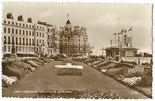 Carpet Gardens & Pier Entrance RP PPC, Eastbourne, 1959 Dairy Festival Postmark
