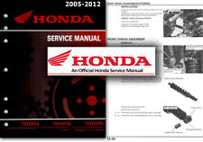 2005 2008 honda foreman rubicon trx500 fa fga service manual