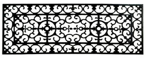 """STAIR TREADS - NEW ORLEANS RUBBER STAIR TREAD - 9"""" X 30"""" - RUBBER STAIR MAT"""