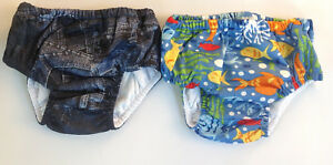 Baby Swimming Togs Swimwear Toddler Boys Size M L Swimmers Bathers Elastic Kids
