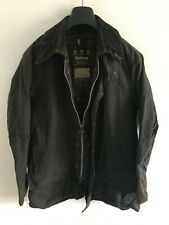 Mens Barbour Beaufort wax jacket Dark Blue coat 40 in size Medium / Large M/L