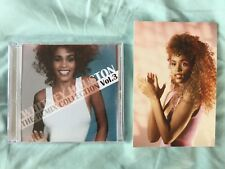 Whitney Houston postcard + Free Dj REMIX CD vol3 Extended Queen of the Night
