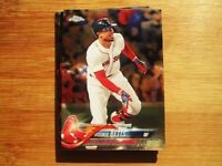 2018 Topps Chrome Boston Red Sox TEAM SET Mookie Betts