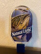 Natural Light Largemouth Bass Fishing Lure Beer Tap Handle