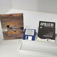 Apollo 18: misión a la Luna (Accolade) (PC, IBM, Tandy, dos, 1988) Raro