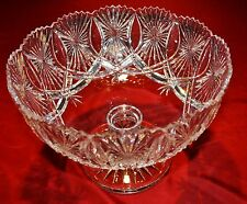 Waterford Crystal Punch Bowl - MINT
