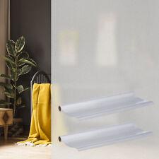 2x Milchglasfolie 90x200 Türfolie Fensterfolie Sichtschutzfolie statisch haftend