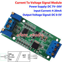 Current  Convert to Voltage 4-20mA To 0-5V Linear Transmitter Signal Module