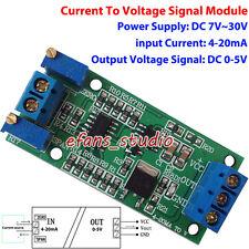 Current To Voltage I/V Linear Converter 4-20mA To 0-5V Transmitter Signal Module