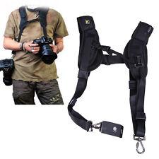Rapid Double Dual Shoulder Sling Belt Strap for DSLR Digital SLR Camera Canon