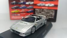 KYOSHO   Scale 1:64   Ferrari  F355  GTS    Silver    Used ( Assembled )