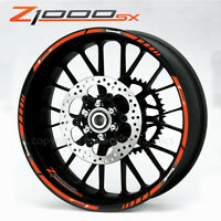 SR50 aprilia Racing 14/'/' wheel decals stickers rim stripes SR 50 scooter Red