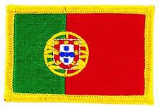 Patch écusson brodé Drapeau PORTUGAL PORTUGAIS FLAG Thermocollant Insigne Blason