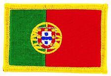 Patch écusson brodé Drapeau PORTUGAL PORTUGAIS FLAG Thermocollant Insigne Blason