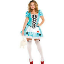 New in Package!! Wonderful Alice Sexy in Wonderland Adult Plus Costume Sz 18-20