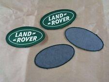 toppa/applicazione/patch ovale  Verde logo  Land Rover