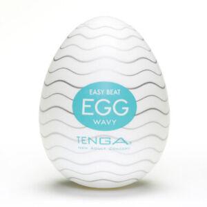 Tenga Egg Wavy Masturbator - Free Shipping