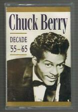 CHUCK BERRY - DECADE '55-'65 CASSETTE TAPE