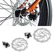 2pcs Mountain Bicycle Bike Mechanical Disc Brake Kit for Mountain Bicycle-160mm