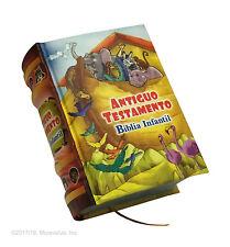 Biblia Infantil Antiguo Testamento Ilustrada en español libro miniatura 430 pag