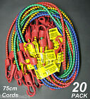 Value 20 Pack x 75cm Bungee Cords / Octopus Straps Occy Straps