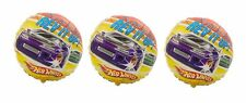 "3 Hot Wheels ""It's Your Birthday! Rev It Up!"" Mylar Balloons"