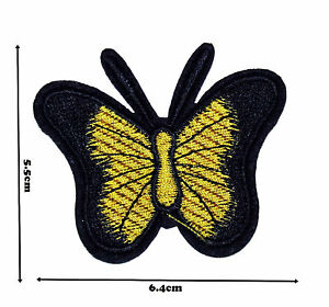 Butterfly Iron On Embroidered Patch Badge Patches Logo Fancy Badges P329