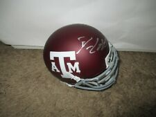 Texas A&M Aggies DAN CAMPBELL signed Mini Helmet