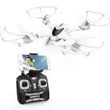 DBPOWER X400W FPV RC Quadcopter Drone with WiFi Camera Live Video One Key Return