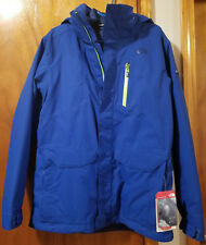 The North Face Mens Thermoball Snow Triclimate Jacket Monster Blue M NF00CNW2BL5