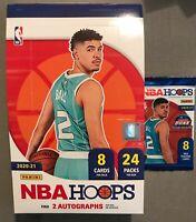 1 - Panini 2020-21 NBA Hoops Trading Card HOBBY PACK