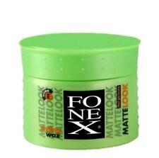 12x Fonex Styling Wax Matte Look Matt Effect 100 ml Haarwax-wachs (100ml/4,08€)