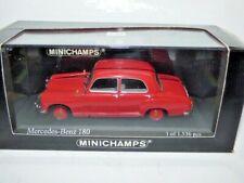 Minichamps Mercedes Benz 180 saloon 1953 red REF 430 033106