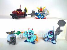 Gundam SD Superior Defender Mini Gundam Force Set #1 Action Figure Set Complete