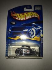 Hot Wheels 32 Ford #216 State Trooper Talluville, CA NEW IN PACKAGE BLUE CARD