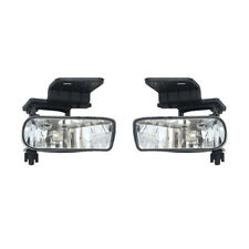 NEW PAIR OF FOG LIGHTS FITS CHEVROLET SILVERADO 1500 2500 HD 2001-2002 GM2593113