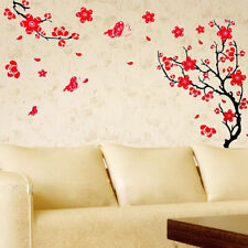 Vinyl Blossom Flowers Tree Removable Wall Stickers Decal Home Decor