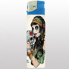 Jumbo Size Huge Big Giant 6.5inch Electronic Lighter Skull Design-001-test