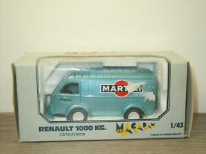 Renault 1000KG Cammionnette Martini - Macadam 1:43 in Box *53107