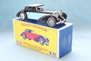 Matchbox Yesteryear Y17-1  Hispano-Suiza 1938 - Code 3 (D96)