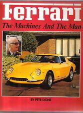 FERRARI le macchine e gli uomini da Pete Lione PUB. da Haynes nel 1989