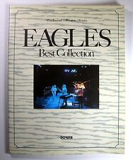 EAGLES BEST COLLECTION BAND SCORE JAPAN GUITAR TAB
