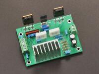 Assembled UPC1298V mono amplifier board class A power AMP 80W