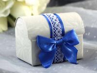 Ribbon Treasure Chest Bomboniere Favour Chocolate Boxes for Wedding, Engagement