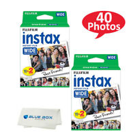 Fujifilm instax Wide Instant Film for use with Wide 300, 200, and 210 cameras
